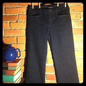 27NWT BananaRepublic dark blue denim jeans trouser